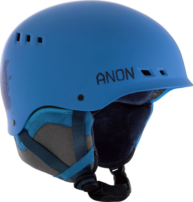 The Talon helmet from Anon features a Boa® 360 Fit System, Endura-Shell ABS Construction and is SkullCandy™ ASFX Audio Compatible. - © Anon