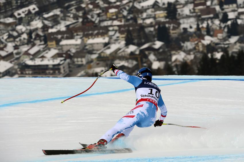 Benni Raich erhielt sich seine Chance auf eine Kombi-Medaille nach der Abfahrt - und verlor sie im Slalom - © Alain Grosclaude/AGENCE ZOOM