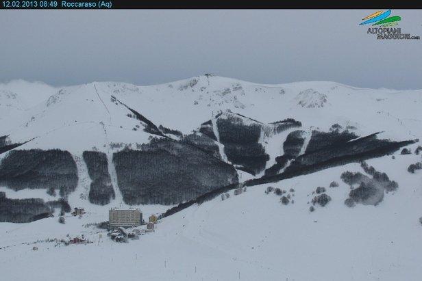 Roccaraso - webcam 12.02.13