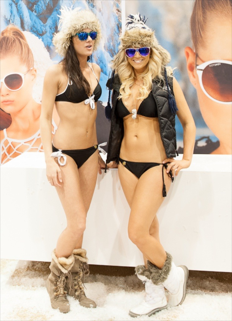 It was hard to avert your eyes from the Dot Dash sunglass booth. - ©Ashleigh Miller Photography