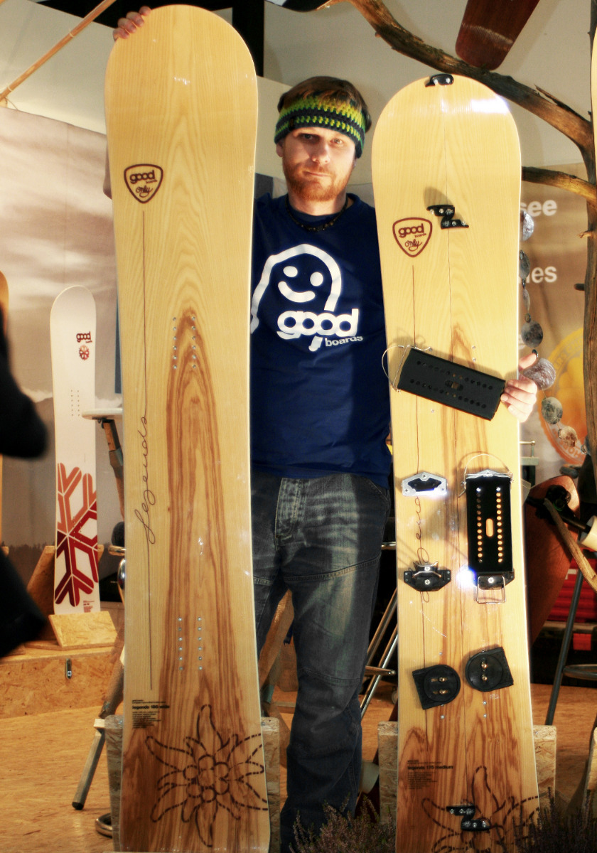 Good Snowboards: Jedes Brett ein Unikat - © Stefan Drexl