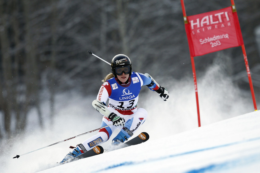 Lara Gut (SUI) / Schladming 2013 - © Alain Grosclaude / Agence Zoom