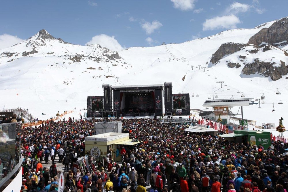 Ischgl's Top of the Mountain concert - © TVB Paznaun-Ischgl