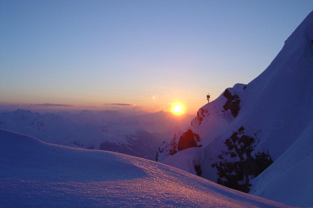 Sunset at Arlberg. - © TVB St. Anton am Arlberg/Fotograf Walter Inwinkel