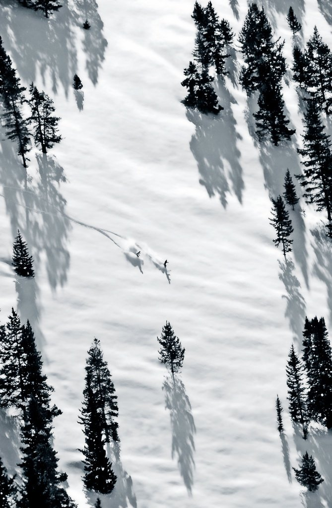 Vail's legendary back bowls. - © Jack Affleck