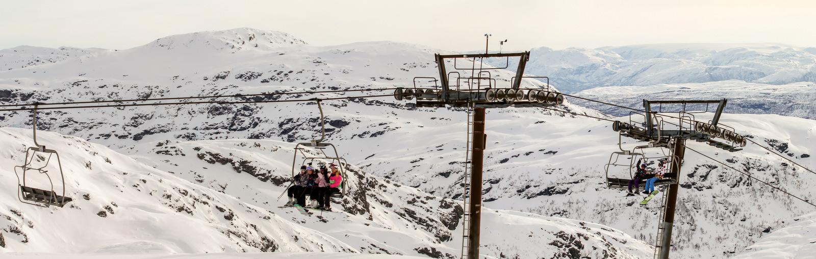 Eikedalen ski resort - © Eikedalen Skisenter