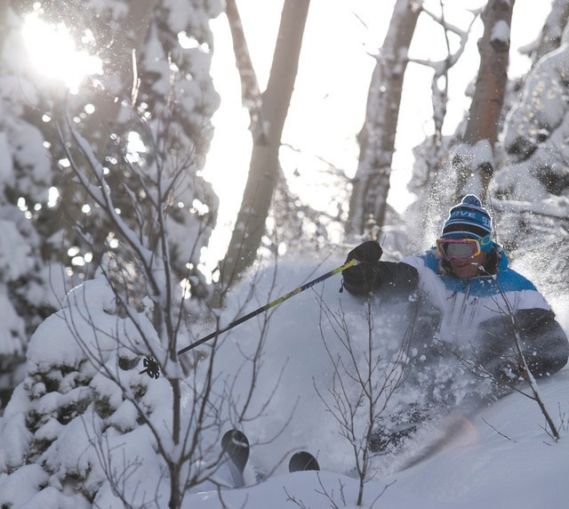 Finding a slice of paradise in the trees at Durango Mountain Resort.  - © Scott Smith