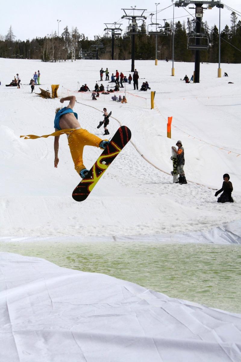 Celebrate the end of the season at Ski Granby Ranch. - © Photo courtesy Ski Granby Ranch.