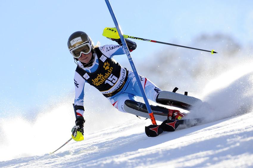 Bernadette Schild ließ es zum Saisonfinale noch einmal krachen - © Alain Grosclaude/AGENCE ZOOM