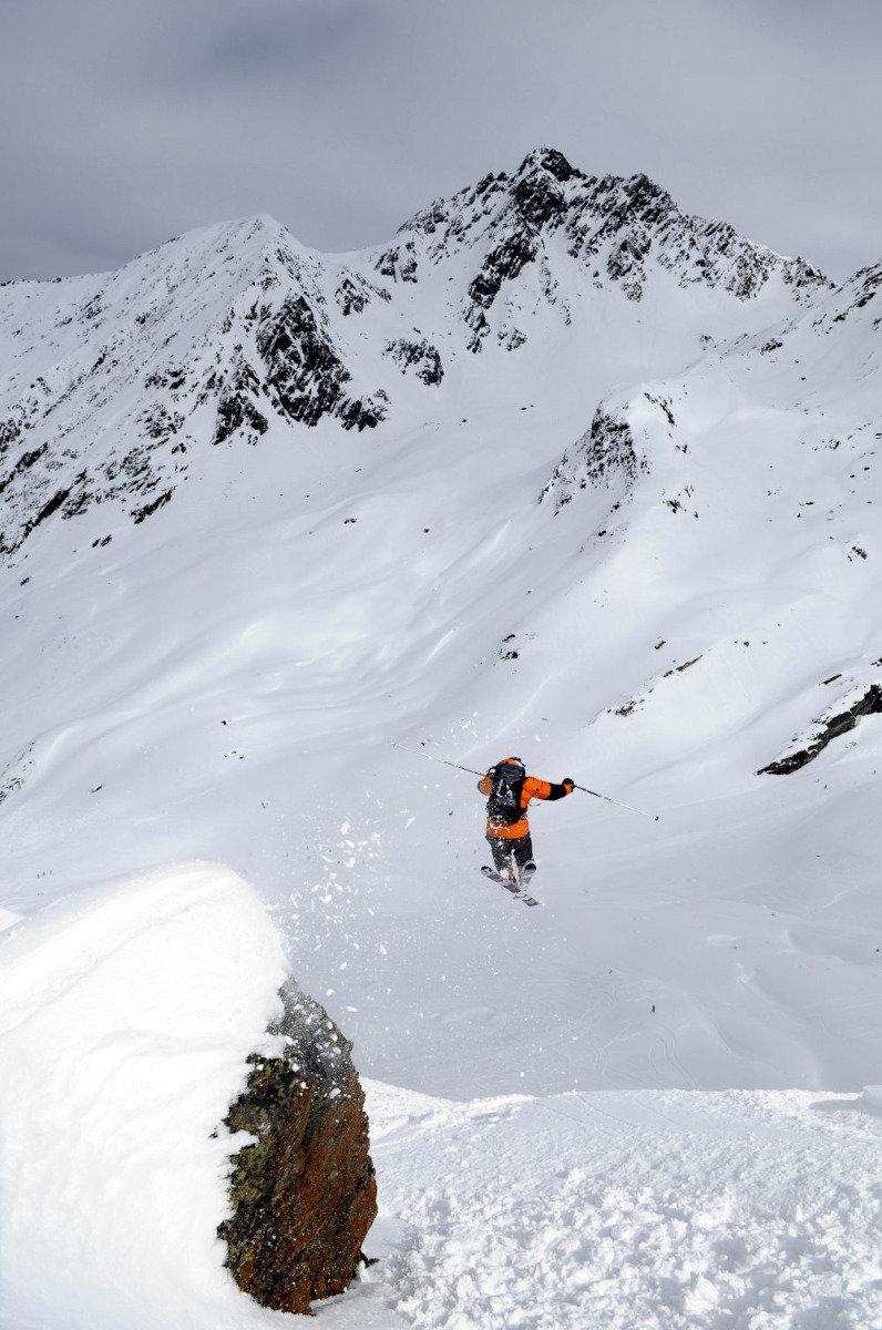 A vous les vastes combes remplies de neige d'Ischgl - © Eric Beallet