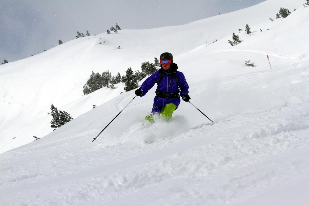 Schöne Offpiste-Möglichkeiten im Skigebiet Lermoos-Grubigstein - © Skiinfo.de