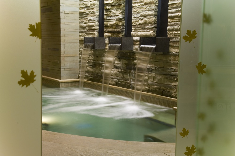 Caldarium Pool view at the spa at Park Hyatt Beaver Creek Resort and Spa. - © Park Hyatt Beaver Creek Resort and Spa