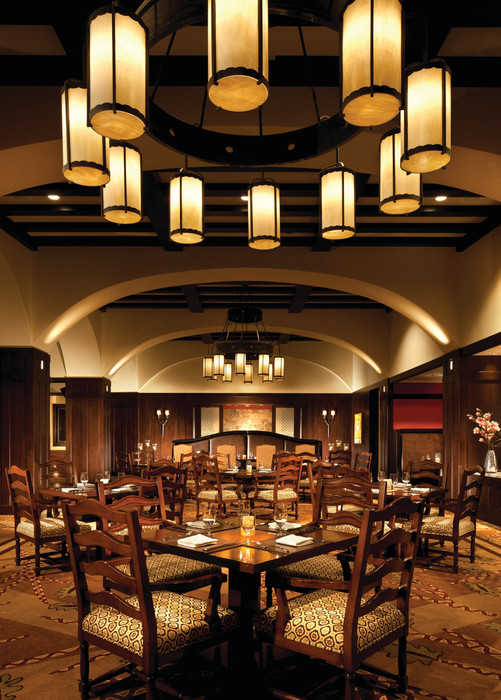 Great culinary options at the Flame Restaurant at Four Seasons Vail. - © Don Riddle