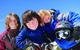 Kids enjoy an afternooon at Sugar Bowl Ski Resort, California