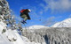Freeskier jumping at Sunshine Village