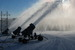A trio of snowguns at Mt Kato, MN.