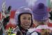 Gratulation unter Weltmeisterinnen: Maze beglückwünscht Maria Höfl-Riesch - © Alain Grosclaude/AGENCE ZOOM