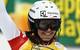 Wendy Holdener strahlt: Platz zwei - erstes Slalom-Podium in ihrere Karriere! - © Christophe PALLOT/AGENCE ZOOM