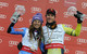 Die Sieger im Super-G-Weltcup 2012/2013: Tina Maze und Aksel Lund-Svindal - © Alain Grosclaude / Agence Zoom