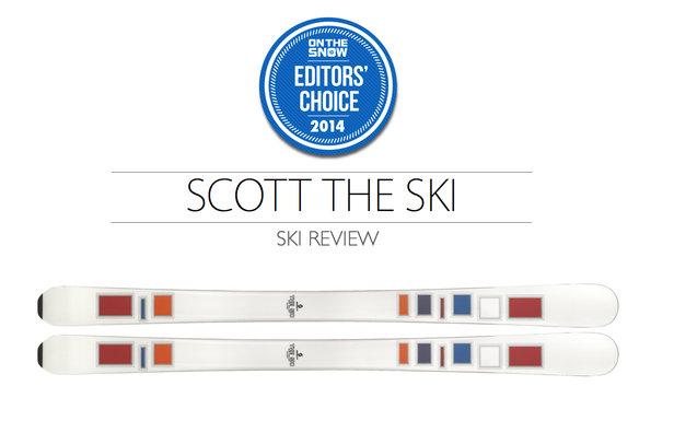 2014 Women's All-Mountain Editors' Choice Ski: Scott The Ski