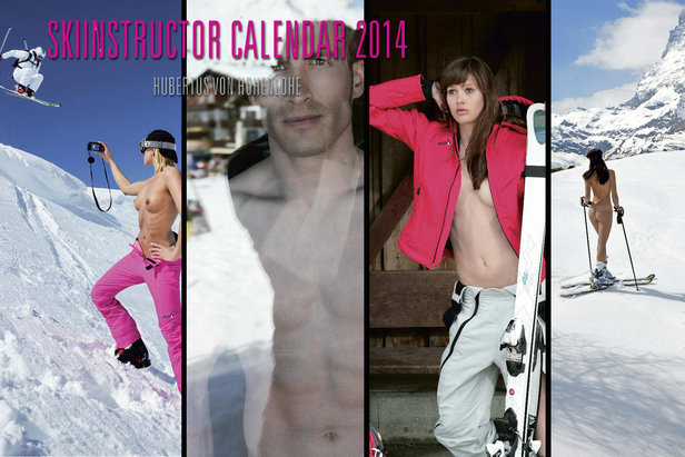 Heiße Mädels Und Jungs Auf Ski Ehemalige Miss Austria Und Rainer