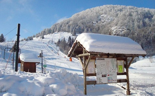 ski à Bussang - Larcenaire