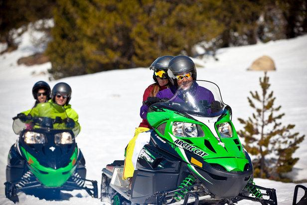 Andora - przejażdżka skuterem śnieżnym