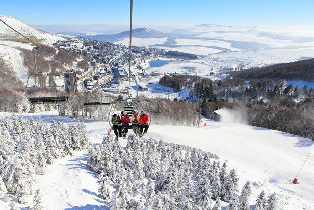 10 nejlepších rodinných lyžařských středisek ve Francii ©Office de Tourisme Massif du Sancy