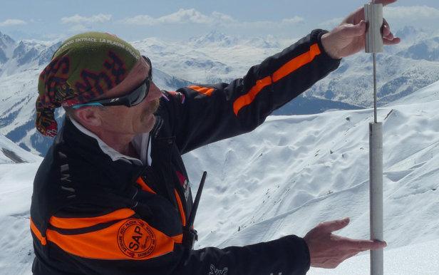 Schneewissenschaftler Claude Schneider