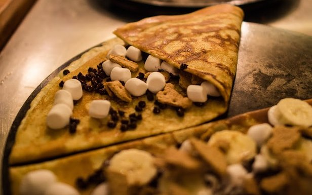 Crêpes Á La Cart is the Breckenridge destination for street-goers craving the ultimate casual feast.  - © Crêpes Á La Cart