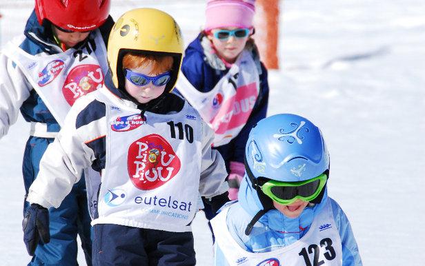 Le passage des étoiles du ski françaisEric Beallet