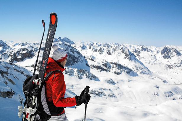 Silvretta Montafon: Erstes Vorarlberger Skigebiet öffnet am 11. November- ©Illwerke Tourismus