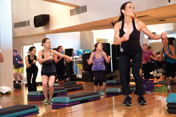 Ski conditioning class - ©Sports Club/LA - Upper East Side (NYC)