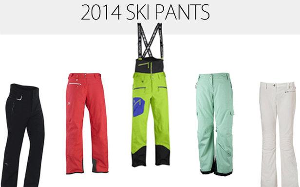 2014 Men's & Women's Ski Pants: The Bottom Line in Outerwear