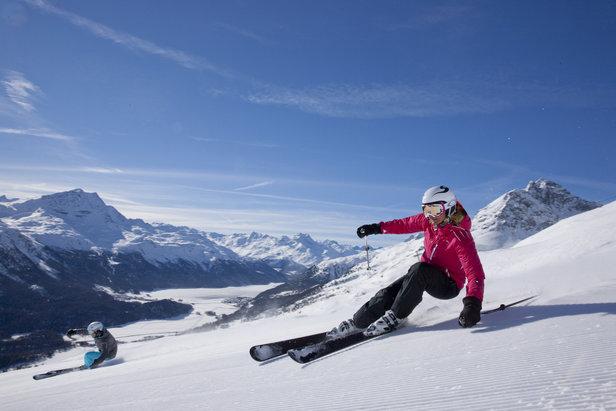 St Moritz Pr 233 Sentation De St Moritz La Station Le Domaine Skiable