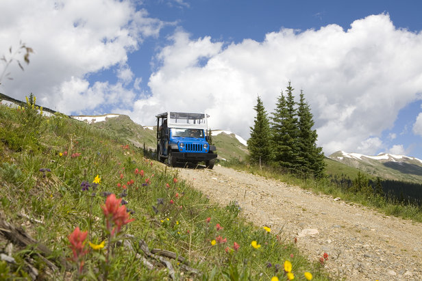 Taking a Jeep Tour through Summit County is a great way to see the scenery.   - © Leisa Gibson
