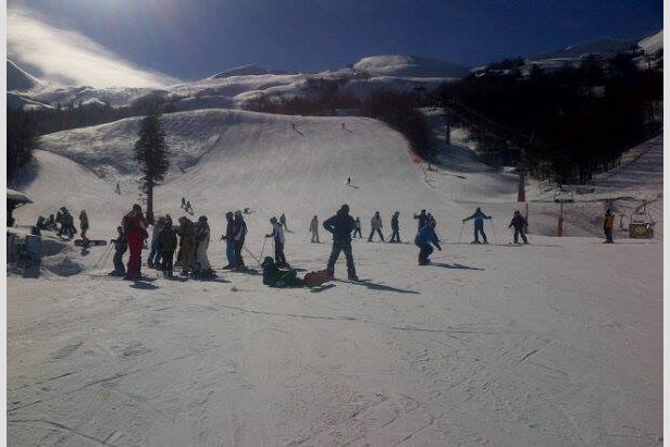 Abetone, Neve 14 Feb 2014