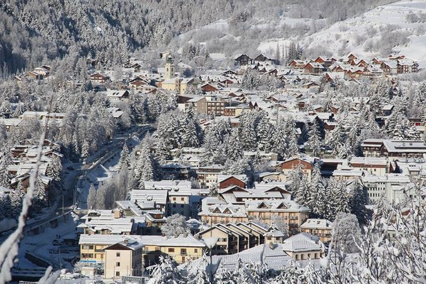Verse sneeuw in Bardonecchia op 14 januari 2014