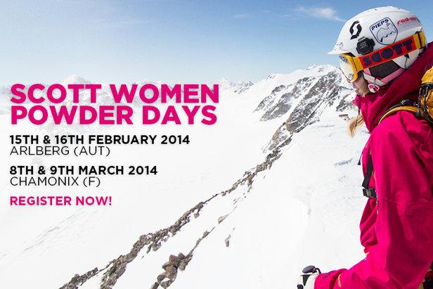 Vous aimez skier en hors-piste, et souhaitez améliorer votre niveau de freeride ? Les SCOTT Women Powder Days sont faits pour vous !