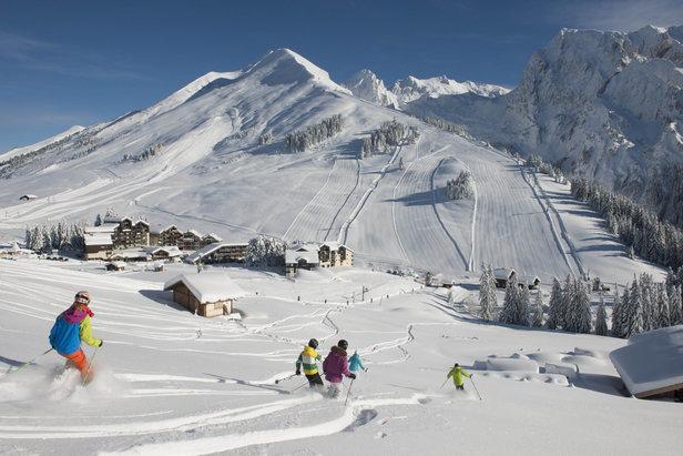 Top 10 des stations de ski idéales pour un week-end- ©P. Lebeau / OT La Clusaz