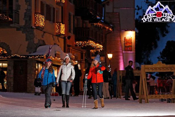 Top 10 des stations de ski sans voitures- ©Agence Urope / Les Arcs