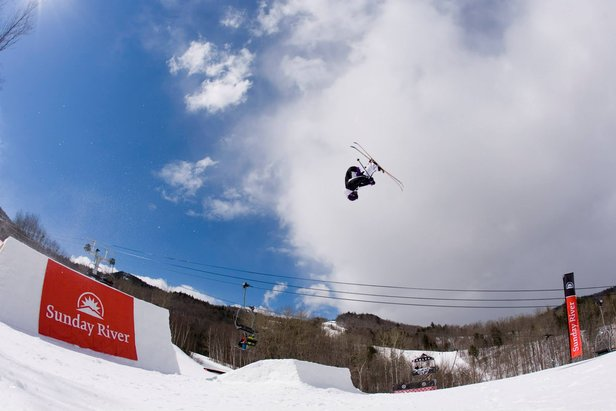 There's nothing small about the Simon Dumont Cup at Sunday River.