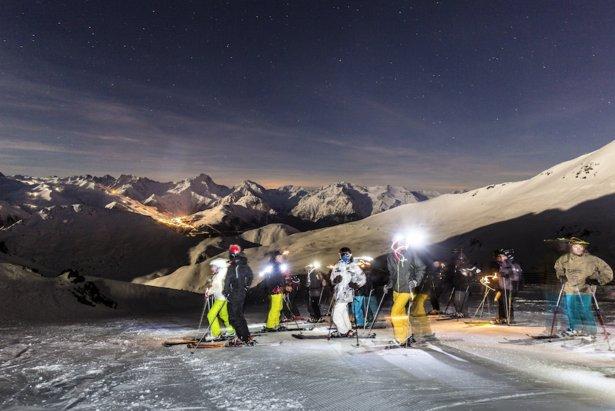 Sarenne by Night (l'Alpe d'Huez)