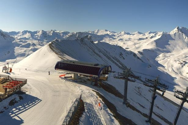 Top of the mountain in Tignes, France  - © Tignes