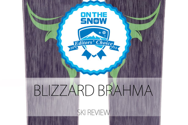 2015 Men's All-Mountain Front Editors' Choice Ski: Blizzard Brahma- ©Blizzard
