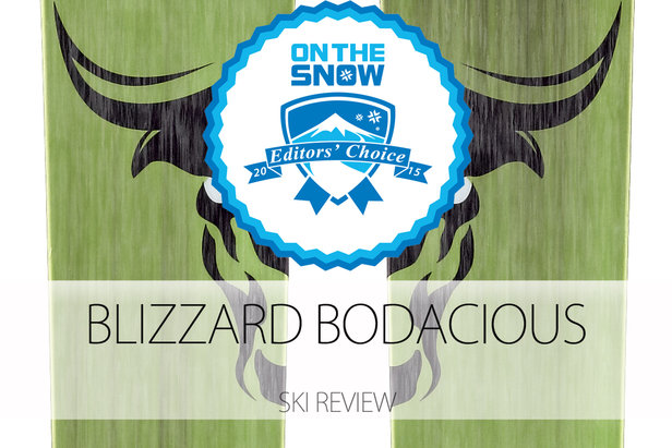 2015 Men's Powder Editors' Choice Ski: Blizzard Bodacious - ©Blizzard