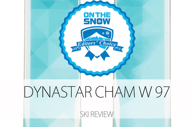 Dynastar Cham W 97, a 2015 Editors' Choice Women's All-Mountain Back Ski.