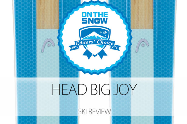 2015 Women's Powder Editors' Choice Ski: Head Big JOY- ©Head