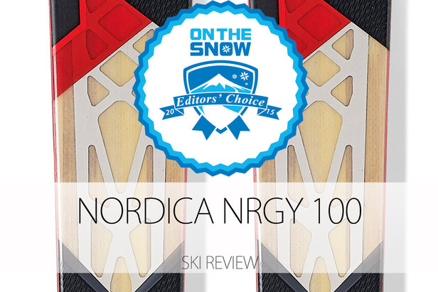 2015 Men's All-Mountain Back Editors' Choice Ski: Nordica NRGY 100 ©Nordica