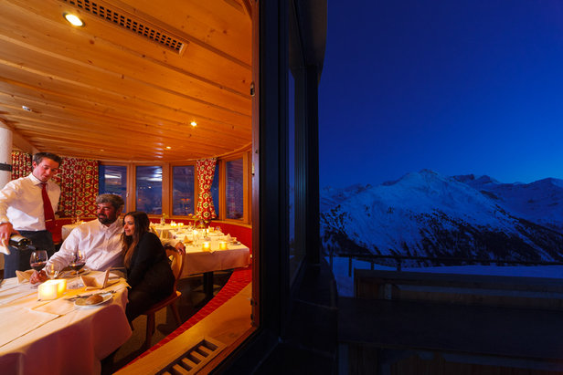 Candlelight Dinner- ©A romantic evening on top of the mountain